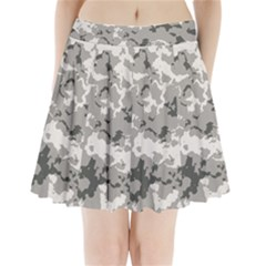 WINTER CAMOUFLAGE Pleated Mini Skirt