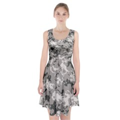 Winter Camouflage Racerback Midi Dress