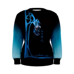 fish dance Women s Sweatshirt