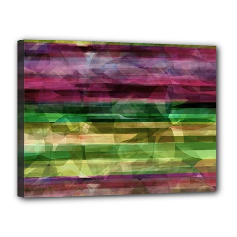 Colorful marble Canvas 16  x 12
