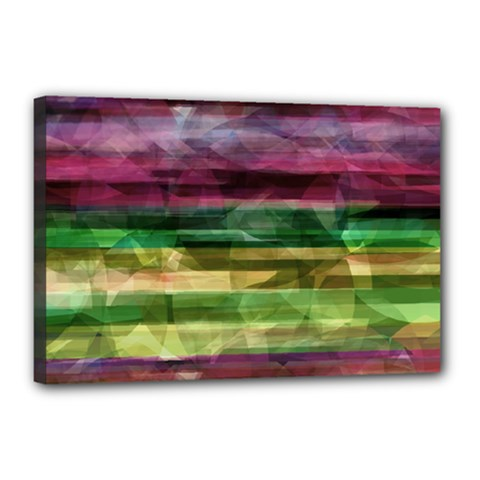 Colorful marble Canvas 18  x 12
