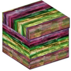 Colorful marble Storage Stool 12