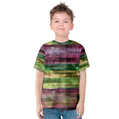 Colorful marble Kids  Cotton Tee