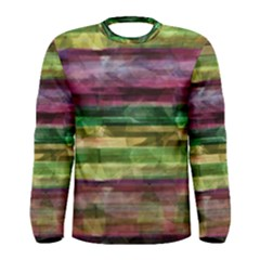 Colorful marble Men s Long Sleeve Tee