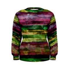 Colorful marble Women s Sweatshirt