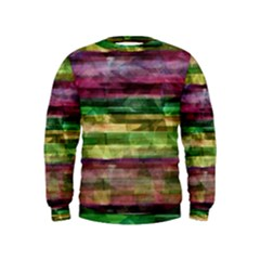 Colorful marble Kids  Sweatshirt