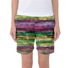 Colorful marble Women s Basketball Shorts