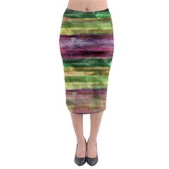 Colorful marble Midi Pencil Skirt