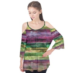 Colorful Marble Flutter Tees