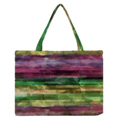 Colorful marble Medium Zipper Tote Bag