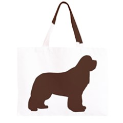 Newfie Silo Brown Large Tote Bag