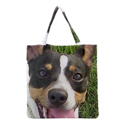 Rat Terrier second Grocery Tote Bag