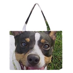 Rat Terrier second Medium Tote Bag