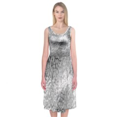 Whitesnake Midi Sleeveless Dress