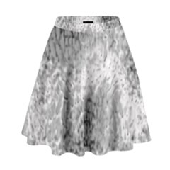 Whitesnake High Waist Skirt