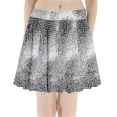 Whitesnake Pleated Mini Skirt
