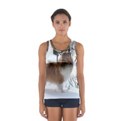 Shetland Sheepdog Full Women s Sport Tank Top