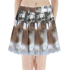 Shetland Sheepdog Full Pleated Mini Skirt