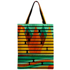 Decorative autumn landscape Classic Tote Bag