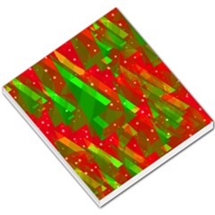 Xmas trees decorative design Small Memo Pads