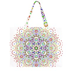The Flower Of Life Large Tote Bag