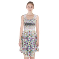 The Flower Of Life Racerback Midi Dress