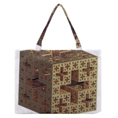 The Jerusalem Cube Medium Zipper Tote Bag