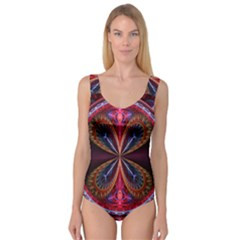 3d Abstract Ring Princess Tank Leotard