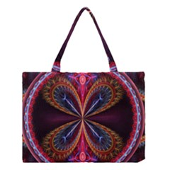 3d Abstract Ring Medium Tote Bag