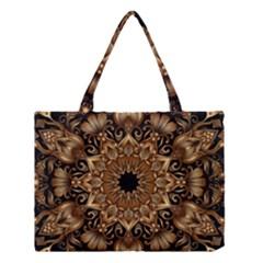 3d Fractal Art Medium Tote Bag