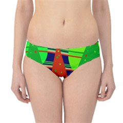 Magical Xmas night Hipster Bikini Bottoms