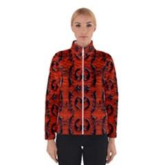 3d Metal Pattern On Wood Winterwear