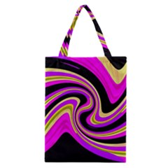 Pink and yellow Classic Tote Bag