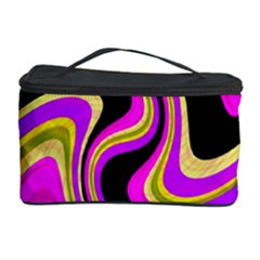 Pink and yellow Cosmetic Storage Case