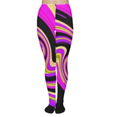 Pink and yellow Women s Tights