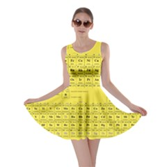 Periodic Table In Yellow Skater Dress