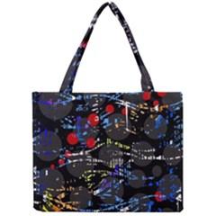 Blue confusion Mini Tote Bag