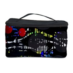 Blue confusion Cosmetic Storage Case