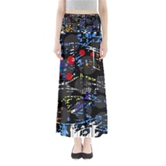 Blue confusion Maxi Skirts