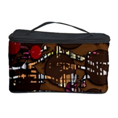 Brown confusion Cosmetic Storage Case