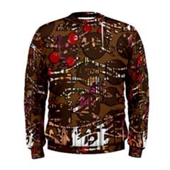 Brown confusion Men s Sweatshirt