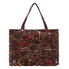 Brown confusion Medium Tote Bag