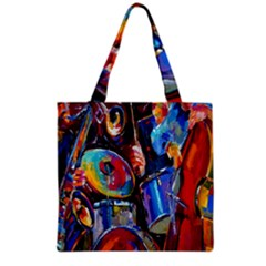Abstract Paintings Wallpapers Grocery Tote Bag