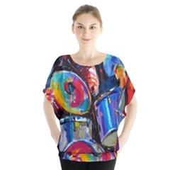 Abstract Paintings Wallpapers Blouse