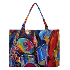 Abstract Paintings Wallpapers Medium Tote Bag