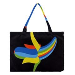 Abstraction Banana Medium Tote Bag