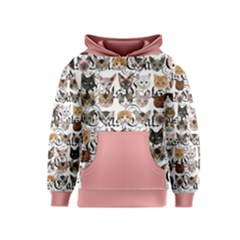Puppy cats Kids  Pullover Hoodie