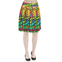 Abstrak Pleated Skirt