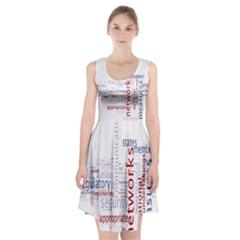Art Racerback Midi Dress