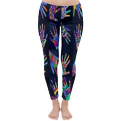 Art With Your Hand Winter Leggings